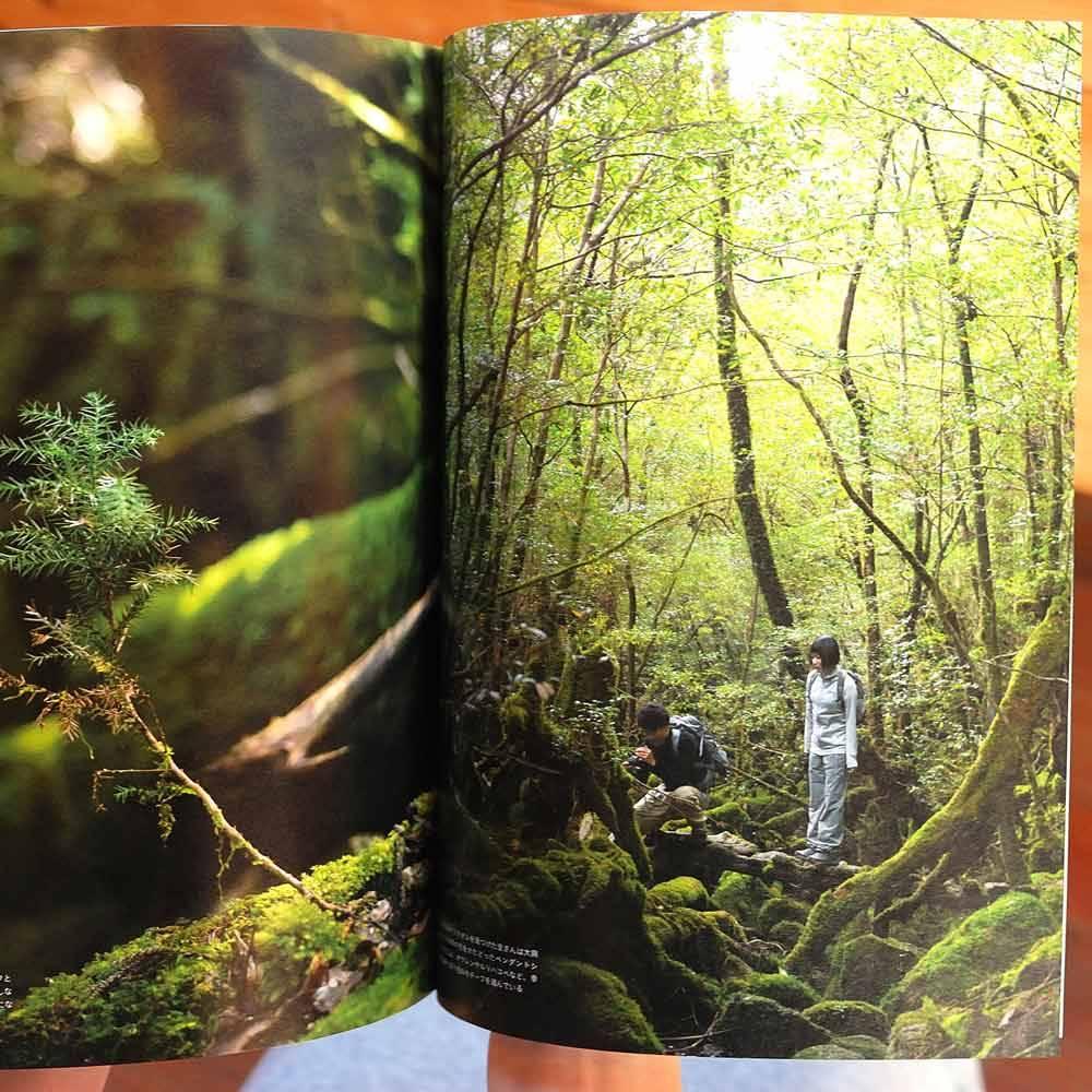 屋久島ブック2016 開いて 高田裕子と中村圭 白谷雲水峡