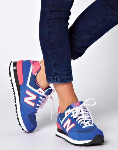 zebraandmeerkat:  New Balance Exclusive Yacht Club Blue Trainers