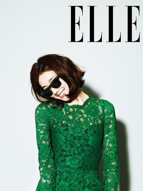 Elle Korea Model: So Yi Hyun April 2013