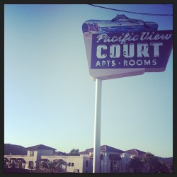 Vintage sign. California. #california #beach #shabby #sign #vintage #mydarlingvintage