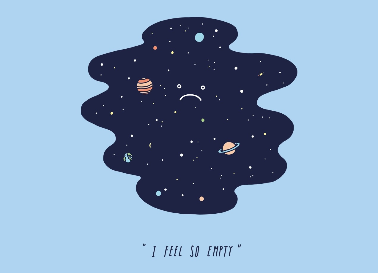 """""""Negative Space"""" by Jaco Haasbroek Today is a sad anniversary for Pluto. On today's date in 2006, the International Astronomical Union redefined the word """"planet"""" so that poor, little Pluto would be considered a dwarf planet. We still love you Pluto."""