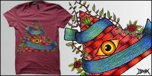"Check out this tee design called ""Eye of Piramid"" by ddyxx!"