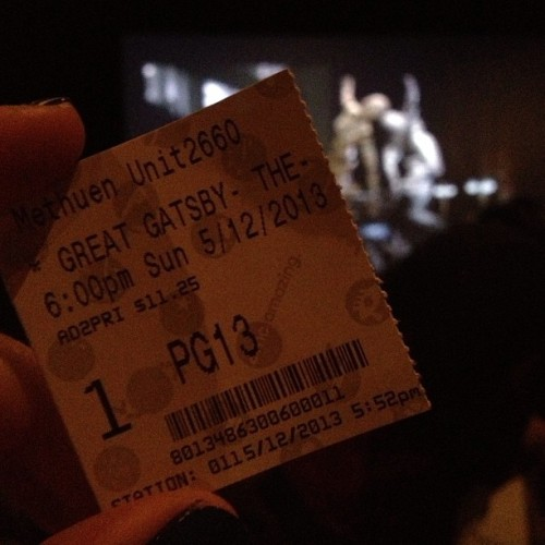 Finally! #Gatsby with @feiipuoo