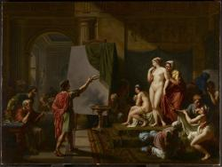 Zeuxis choisissant des modèles, 1797Nicolas André Monsiau French, 1754/55 - 1837Oil on canvasOverall: 96 x 129 cmGift from the Volunteer Committee Fund, 1988© 2013 Art Gallery of Ontario