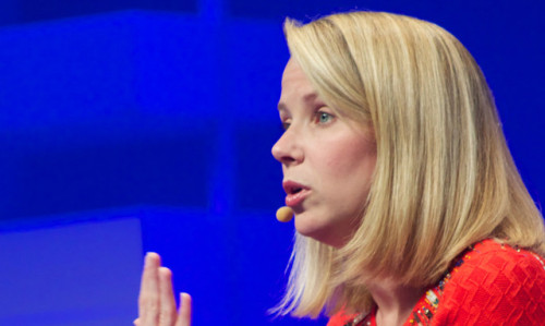 "fastcompany:  Let Marissa Mayer Do Her Job ""People are looking at you as a role model as well, looking at you as an example,"" Savannah Guthrie told Marissa Mayer on the Today Show. ""Has that been difficult to deal with?"" Looking slightly flustered, Mayer repeated a response she had given to a previous question about her age: ""Again, I haven't spent a lot of time looking at it or even thinking about it. I've really been focusing on the products and what we need to do."" It's understandable that Guthrie took an opportunity to ask that rare bird, the female CEO of a large tech company, questions about her unusual situation. But it's also understandable why Mayer consistently returns boiler-plate responses to such inquiries. Responding to them could send her down a rabbit hole that runs deep: What's her opinion of stay-at-home mothers? What's she doing about the income disparity between women and men? Should paid maternity leave be mandatory? How is she supporting women in the developing world? Will she be lobbying for this bill that creates better work conditions for women this year? And when can we expect her book about women in the workplace and the subsequent dates on a speaking tour? Mayer's male peers at big technology companies—Larry Page, Jeff Bezos, Bill Gates—aren't bothered with this line of questioning. (""Mr. Jobs, is it difficult to be seen as a role model for men?"" Sounds wrong, doesn't it?) And it's not just because they're men. It's because they're busy running companies.  I have been rather struck in recent interviews how much time is spent asking Mayer about her experience as a mother, how her child is doing, and she balances her responsibilities.  When was the last time a male CEO was asked about his family during a significant interview?"