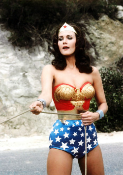 thelastenglishrose:  vintagegal: Lynda Carter as Wonder Woman, 1970s