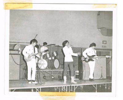 The Doughboys at Piscataway High School opening for The Chiffons in 1967. I was too sick to see the D'boys tonight.  Bummed.
