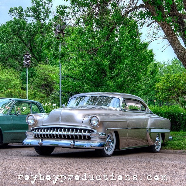 The Weavers beautiful #54chevy #ownerbuilt #driven #kustom