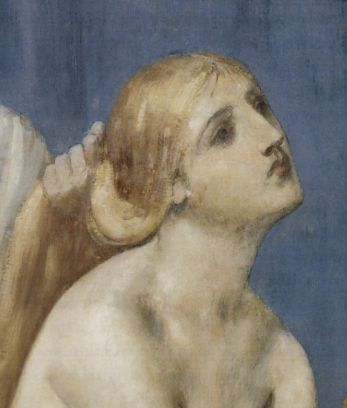the-faces-of-art:  pierre puvis de chavannes, the toilette, 1883 / detail (x)