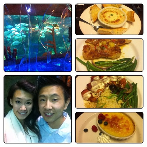 5280 date night at the aquarium! ⚓🐟🎣