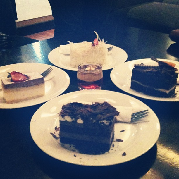 Dessert #dinner #dessert #delicious #cake #instafood #chocolate #cheese #cafe #photooftheday #culinary