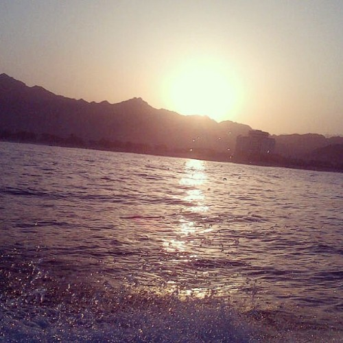 #instapic #instauae #sun #sunset #sea #water #love #boating #beautiful #best