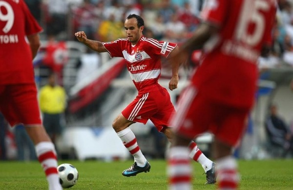 Landon Donovan, during his time with Bayern Munich.
