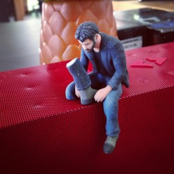 Sad Keanu lost his leg. Now really sad.