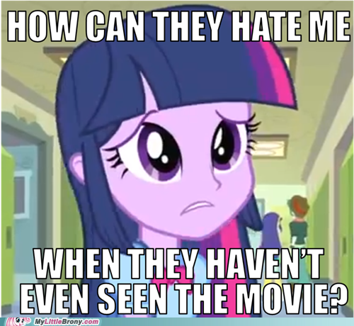 mylittlepony4u:  Haters Gonna Hate You Twilighthttp://mylittlepony4u.tumblr.com