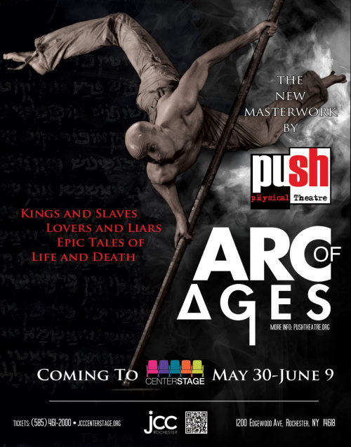 Tickets are now on sale for Arc of Ages!!!http://www.pushtheatre.org/arc.htm