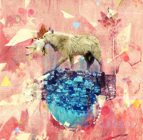 LAURA REDBURN Always a sucker for colorful collage, we love these pieces by Wales-based artist Laura Redburn. Drawing equally from nature, dreams and the past, Laura's work blends innocence and playfulness perfectly.
