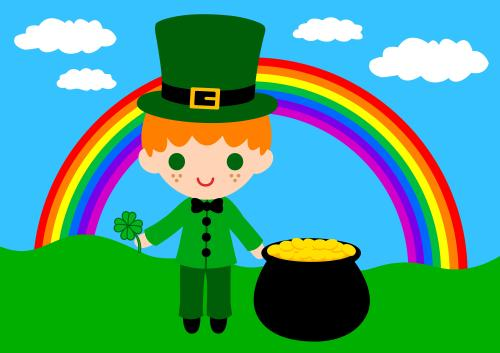 May you always find gold at the end of a rainbow!
