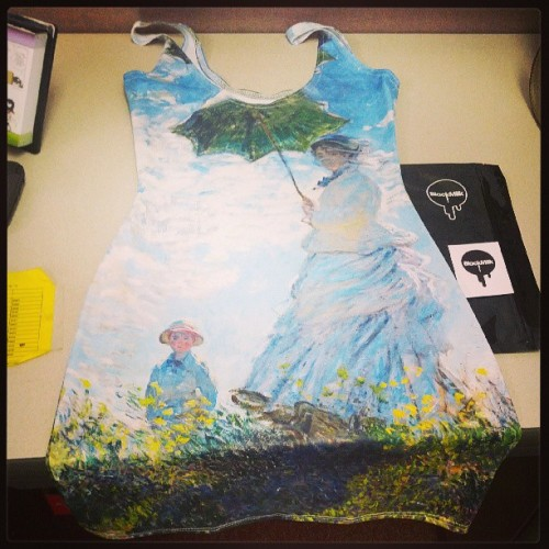 #Monet Parasol dress! #BlackMilk #blackmilkclothing #Australia #Brisbane #weloveblackmilk #SharkieProblems #Sharkies #nomz #hlb #bmusasharkies #bmusa #bmeastcoast #art
