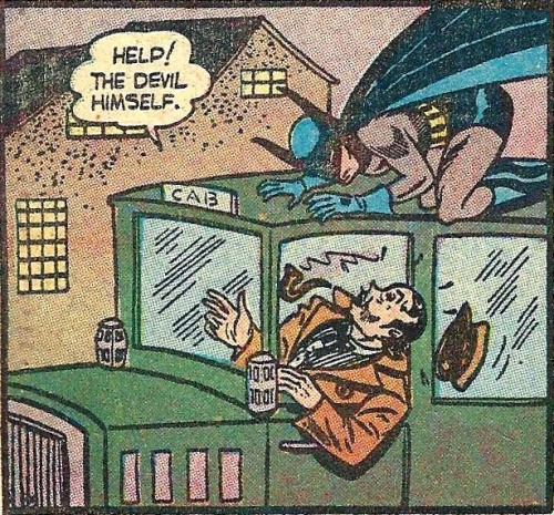 scarlettshazam:  Panel from Detective Comics #31, September 1939