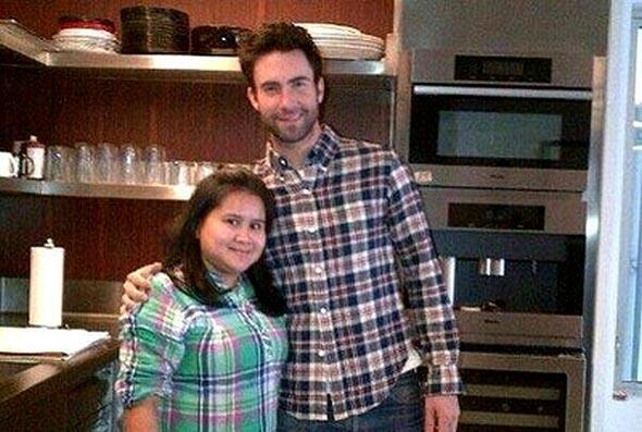 Adam Levine - Adam Levine's maid is from Indonesia. Her salary is USD2000 ( RM6000 ) per month. :D