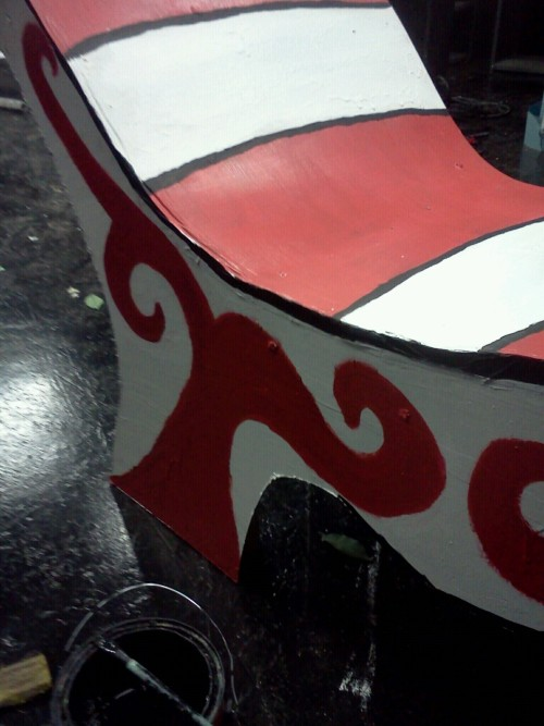 I really hated repainting this stupid chair.