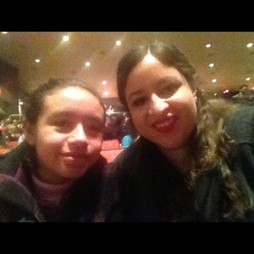 My lil cousin and I at the nutcracker. =D