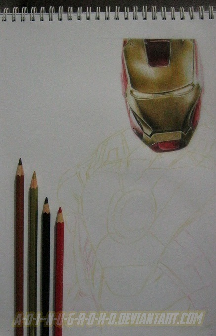 Iron Man 3 WIP 2 by *A-D-I—N-U-G-R-O-H-O