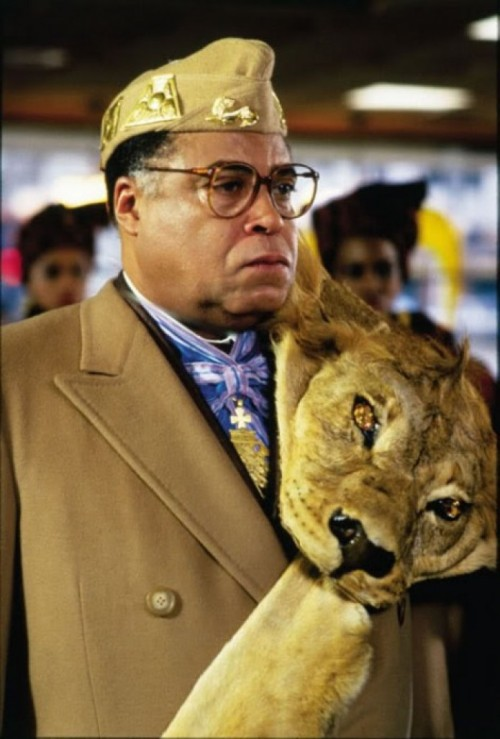 That's a serious lapel pin. blackfashion:  James Earl Jones Coming To America - 1988 Style, American Corporate 80's Fly!