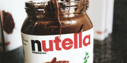 nutella | via Tumblr on We Heart It - http://weheartit.com/entry/61517771/via/amal_photographer   Hearted from: http://wearegoingtodieyoung.tumblr.com/post/50486203867