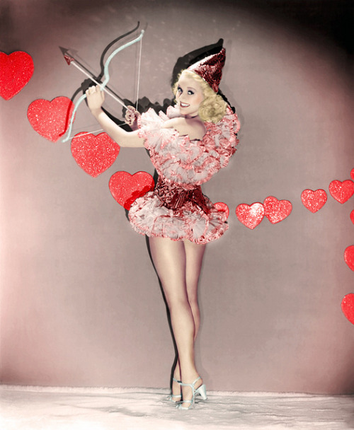 Betty Grable via Flickr user Vintage-Stars