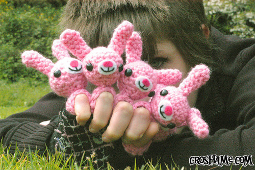 Amigurumi Bunny Pencil Holder : Ravelry roundup free bunny patterns just stitched