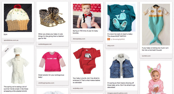New Publizity Pinterest Board: Sizzling Spring Styles for Babies!