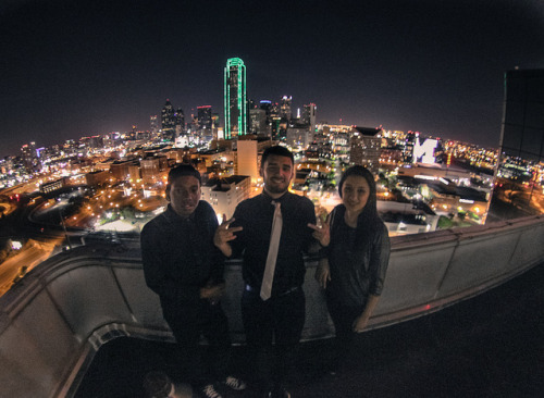 Dallas Life on Flickr.Drunk on a rooftop lol