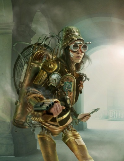 samlikeslamb:  Steampunk cyborg… All I want from this world is for Someone make me this costume.