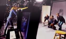Coldplay BTS of SNL, 2011