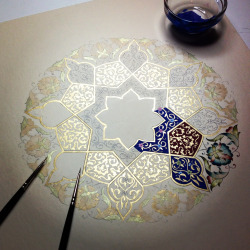 modest-fashion:  islamic-cultures:  islamic art  Just gorgeous.