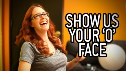 Bite-Sized BTS: Show Us Your O-Face!  Click image for the story: http://bit.ly/12sgm3F