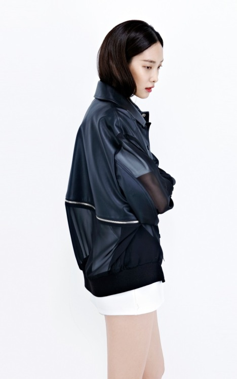 koreanmodel:  Kwak Jiyoung for Low Classic S/S 2013 collection by Hwang Hyejung.
