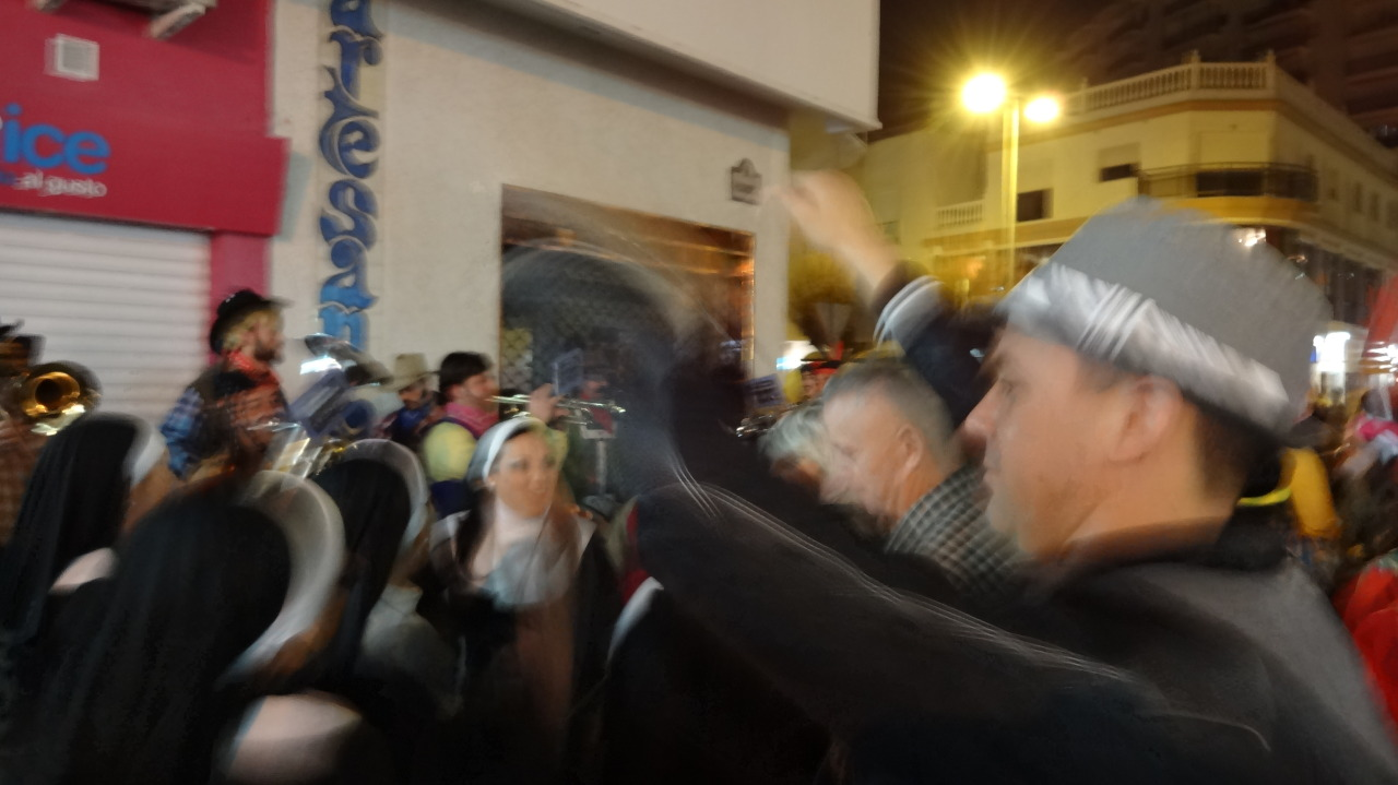"Carnaval de Rota. some pictures are blurry since i was in the ""mosh"" pit dancing"