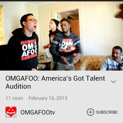 Go watch our audition video for America's Got Talent!!  LINK IS IN MY BIO! https://www.youtube.com/watch?v=_GI2Bswri4w