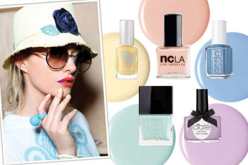 Lighten up and try a pretty pastel polish for spring. For your next mani-pedi, consider one of our favorites »