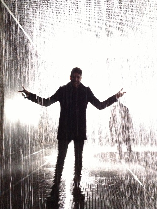Rain Room,  Barbican Centre, London