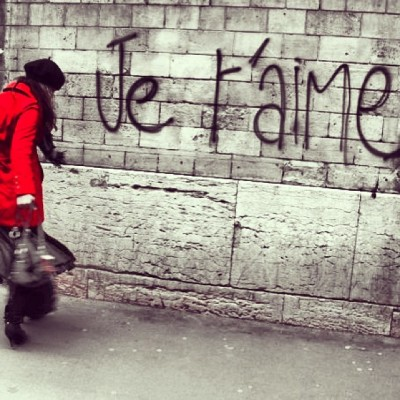 #moi #dancing in the streets of #PARIs!  #amour #love #France #jetaime #beret #girl #francaise