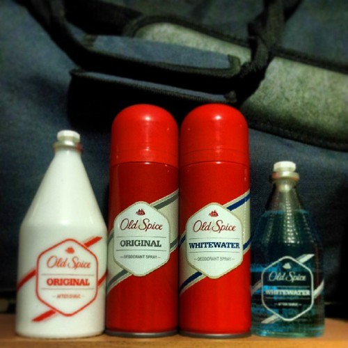 xborntodiex:  The olny way to smell #oldspice #POWER!