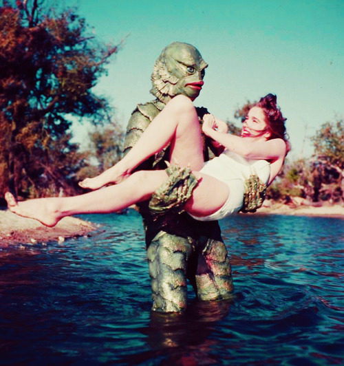 vintagegal:  Creature From the Black Lagoon GILMAN!!! (1954)