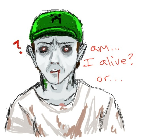 Experimenting with an old idea I've had… Zombie Joel anyone?
