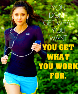 helmetfuck:  get-fit-4-life:  Work for it!   is that nina dobrev