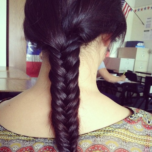 Thanks @imigilluminati !!! #fishtailbraid#braid#love#cute#hair#longhair#growfasterhair
