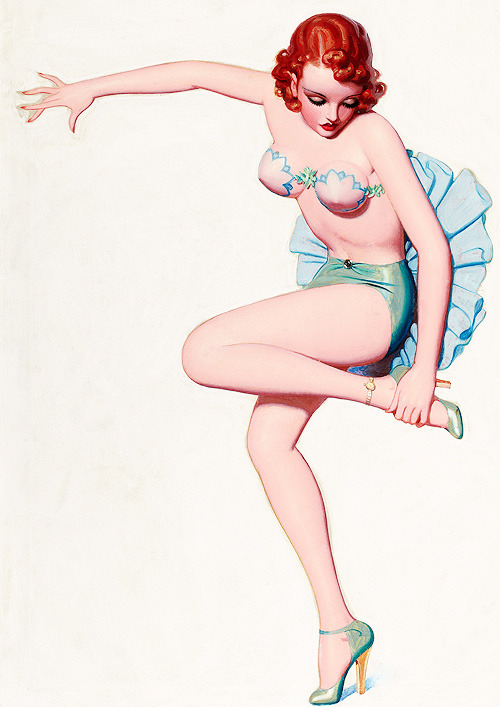 lanallure:  Illustration by Enoch Bolles, c. 1930s.